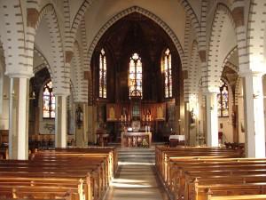 Interieur RK kerk Bakhuizen
