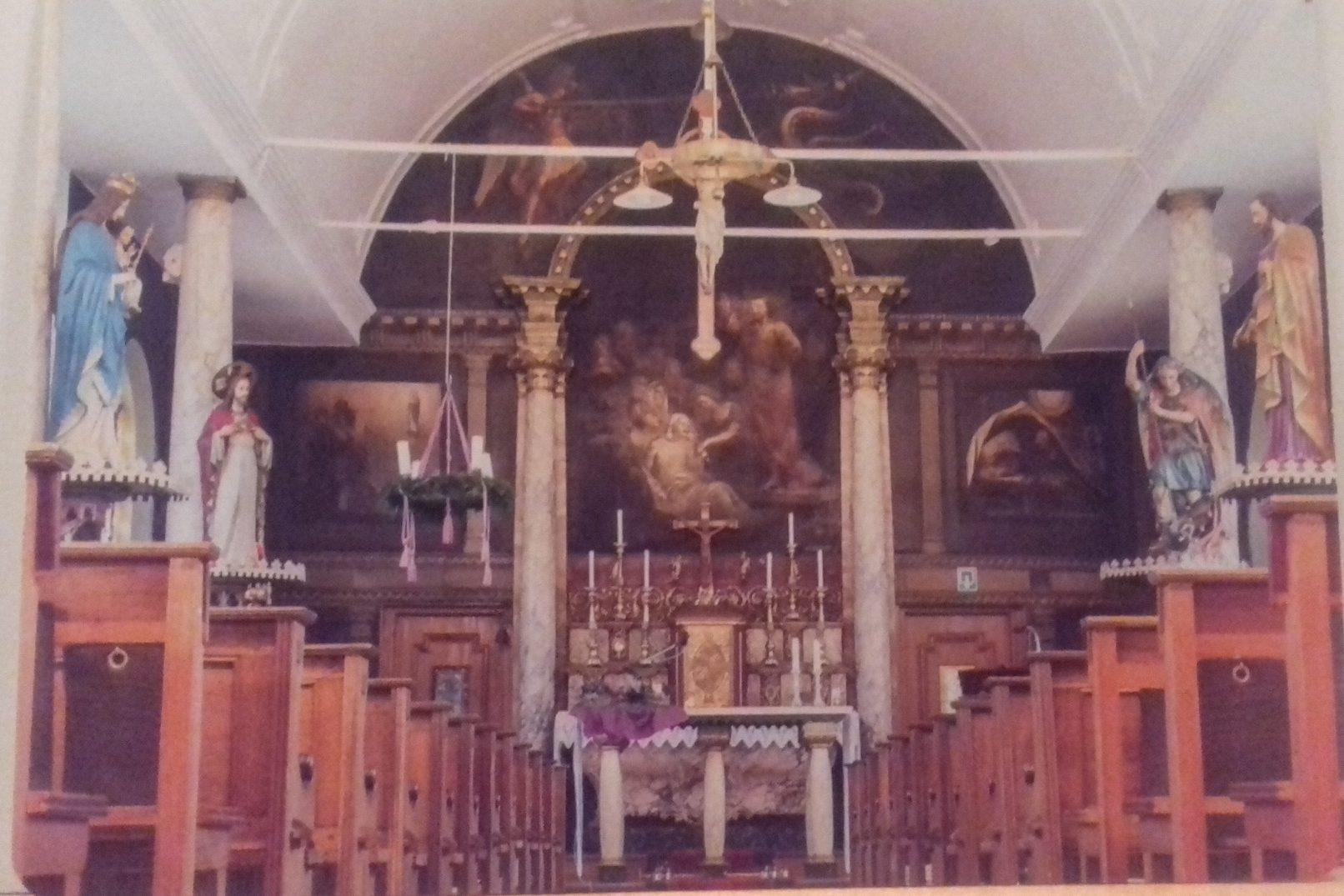 Kaart 3 : Interieur kerk