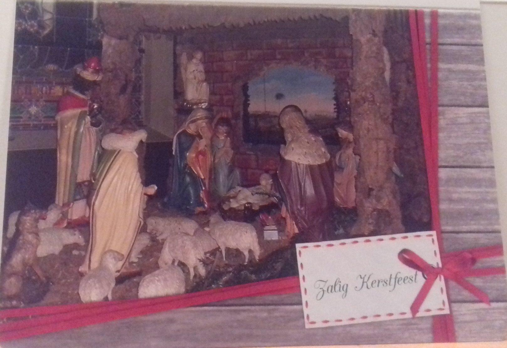 Kerstkaart 2 : Zalig Kerstfeest