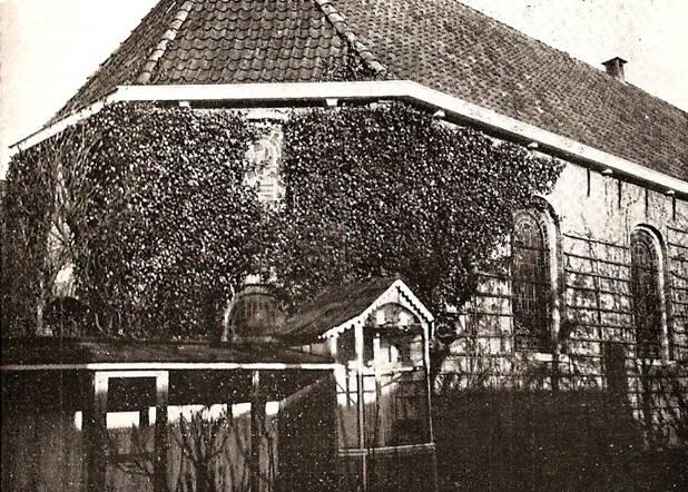 Afbeelding oude foto kerk